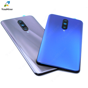 Image 5 - Original For OnePlus 7 Pro Back Battery Cover Door Rear Glass For Oneplus 7t pro Battery Cover Housing Case with Camera Lens