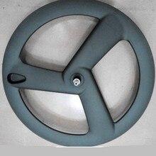Miễn phí vận chuyển 700C Carbon Đường nan hoa bánh xe đường Xe Đạp 3 nan hoa Bánh Xe Xe Đạp raod wheelset nan hoa bánh xe 900g