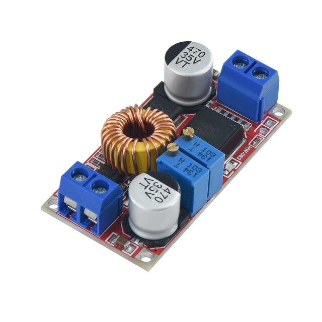 Batería de litio XL4015 E1 5A CC a CC CV Original, placa de carga descendente, convertidor de potencia, módulo de cargador de litio Led