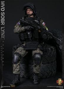 Image 4 - DAMTOYS DAM 78058 1/6 Bilancia RUSSO SPETSNAZ MVD SOBR LYNX Maschio Soldier Action Figure per la Raccolta