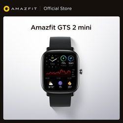 New Amazfit GTS 2 Mini Smartwatch Always-on AMOLED Display 70 Sports Modes Sleep Monitoring Smart Watch For Android iOS Phone
