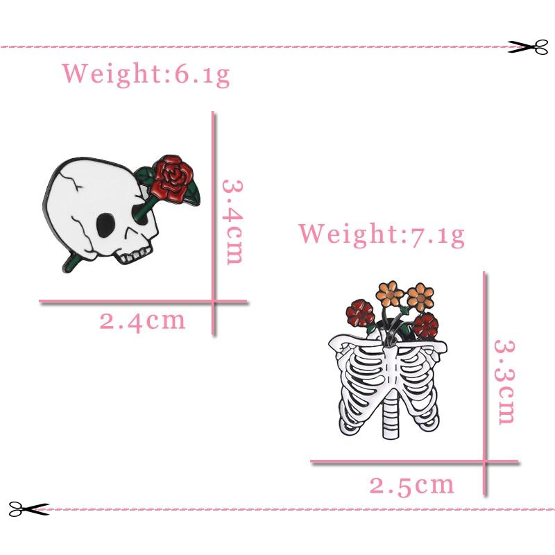 胸针尺寸2个