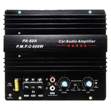 600W 12V Car Audio Amplifier Board High-power Home Subwoofer