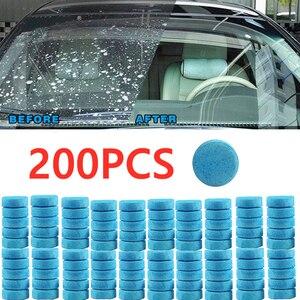 Image 1 - 20/50/100/200 adet toptan araba katı silecek ince Seminoma silecek otomatik pencere temizleme araç ön camı cam temizleyici araba aksesuarları
