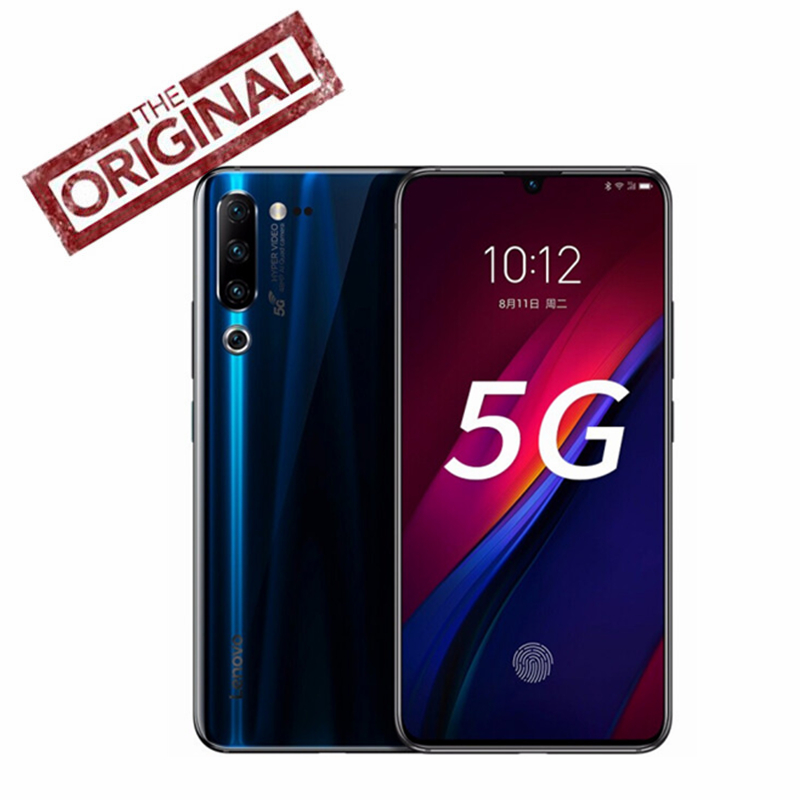 New Lenovo Z6 Pro 8GB 128GB Snapdragon 855 Android P ZUI 11 4G LTE 6.39 Inch Screen FingerPrint 4 Cameras 4000 mAh Face ID NFC