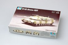 цена на Trumpeter 1/72 07279 US M1A2 Abrams MBT Main Battle Tank Military Display Toy Plastic Assembly Building Model Kit