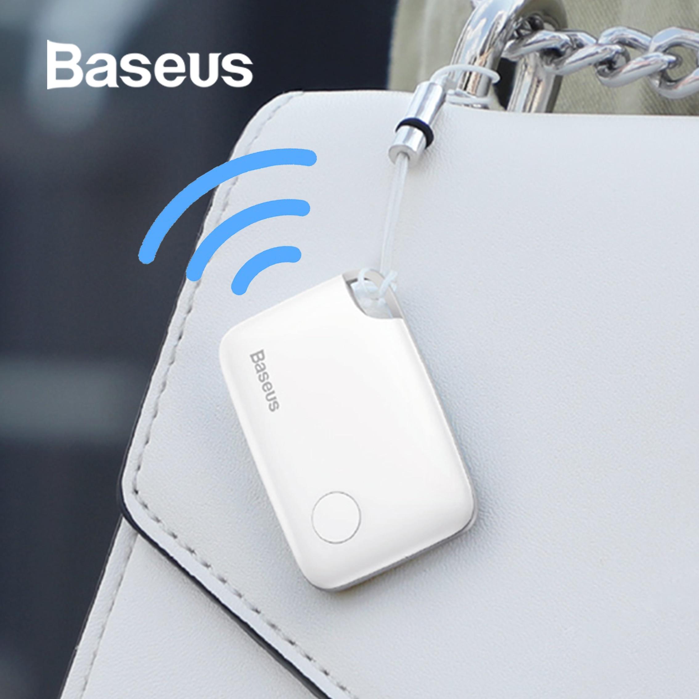 Baseus مكافحة خسر إنذار وحدة تعقب ذكية لاسلكية تعقب مفتاح مكتشف الطفل حقيبة المحفظة مكتشف لتحديد المواقع بلوتوث مكافحة خسر إنذار