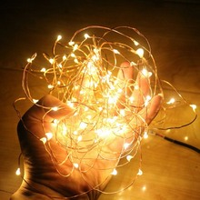 2019 NEW 2M/5M/10M AA Battery Powered LED Strip String Lights For Christmas Wedding Party Home Decorations