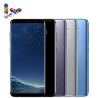 Samsung-teléfono inteligente Galaxy S8 Plus, teléfono móvil desbloqueado con procesador Snapdragon 835, pantalla de 6,2 pulgadas, 64GB ROM, Octa Core, reconocimiento de huella dactilar, 4G LTE, Android