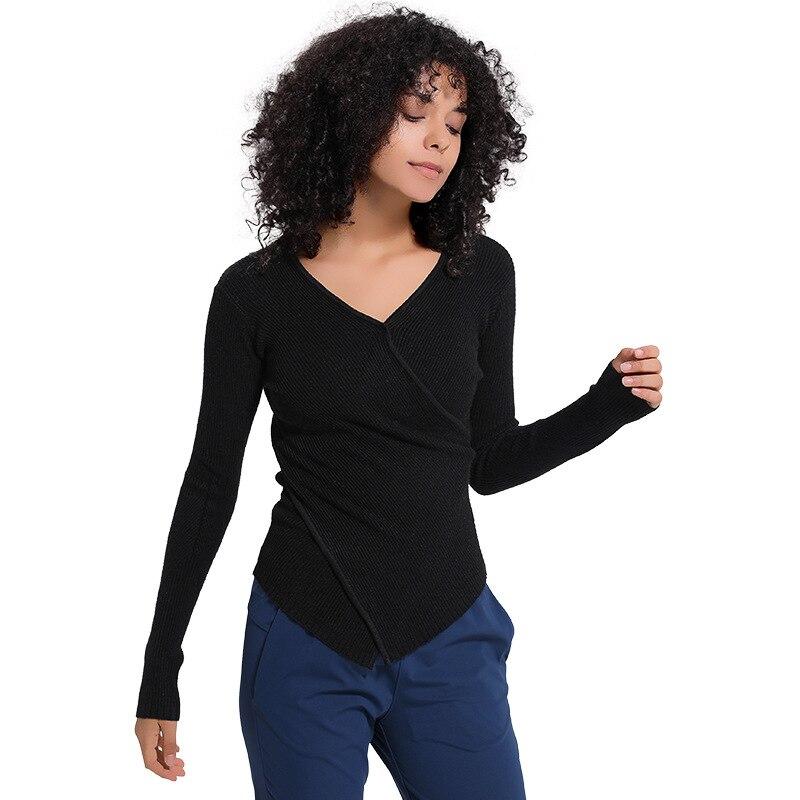 NWT 2020 женская спортивная верхняя одежда, трикотажный осенний пуловер с длинным рукавом, рубашка, одежда, бесплатная доставка