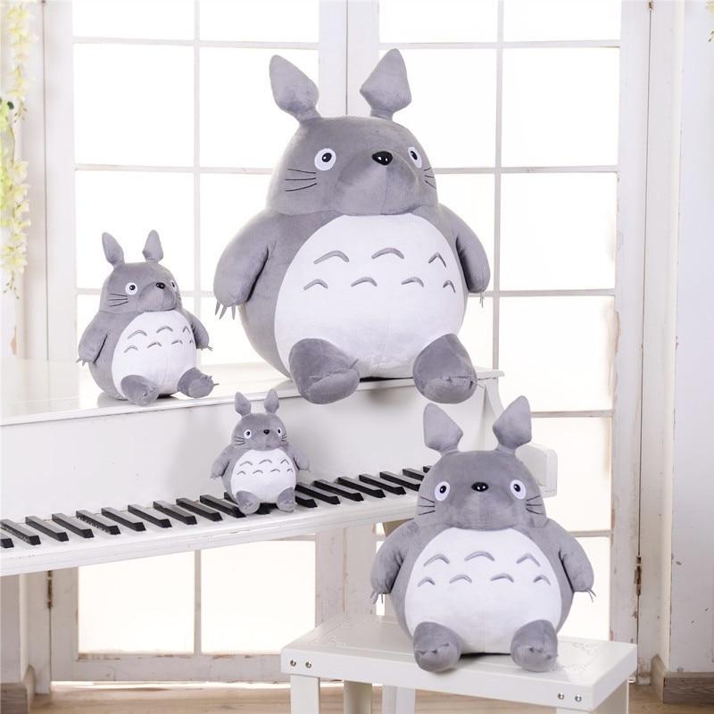 Hot Totoro Soft Stuffed Animal Cushion My Neighbor Totoro Plush Doll Toy Pillow For Kid Baby Birthday Christmas Gift 6/8/20cm