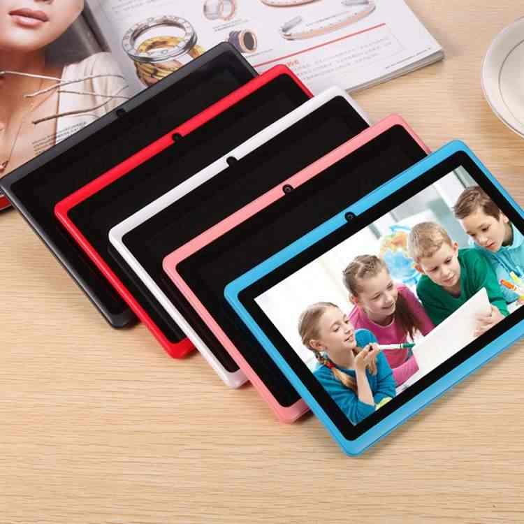 Nuevo diseño LEORY 7 pulgadas HD Tablet PC 4G + 32GB Android 6,0 Quad Core 4000mAh tableta de navegación bluetooth WIFI para niños