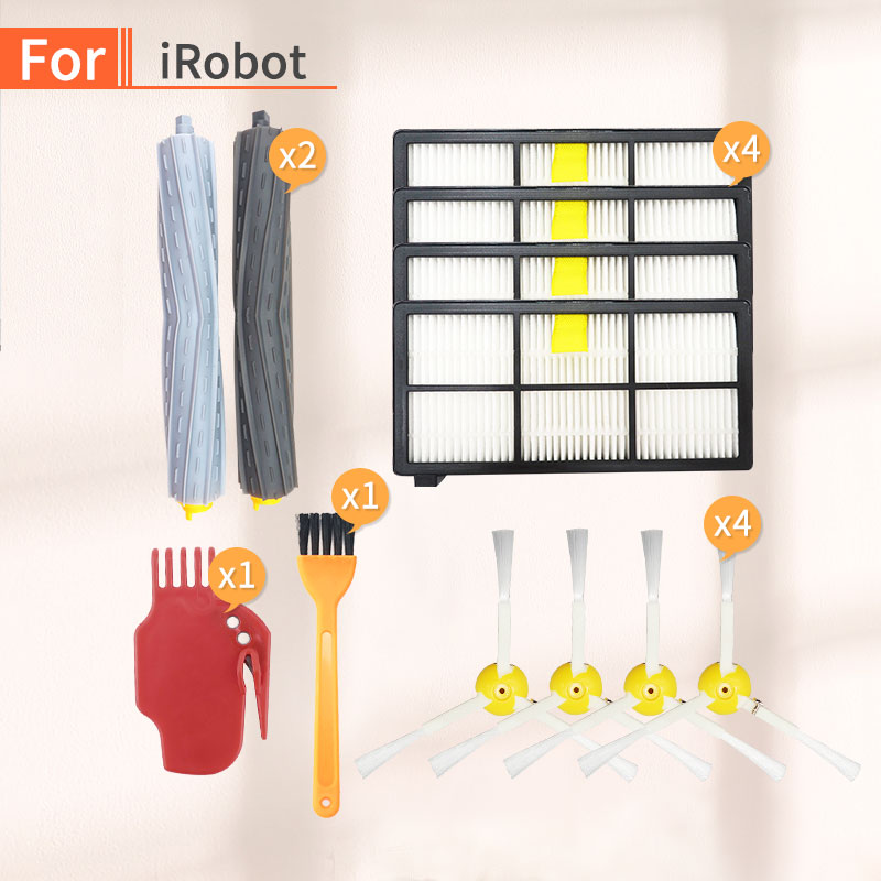 For IRobot Roomba 800 900 Series Parts Kit , 865, 866, 870, 871, 880, 885, 886, 890, 900, 960, 965, 980, Robot Vacuum Cleaner