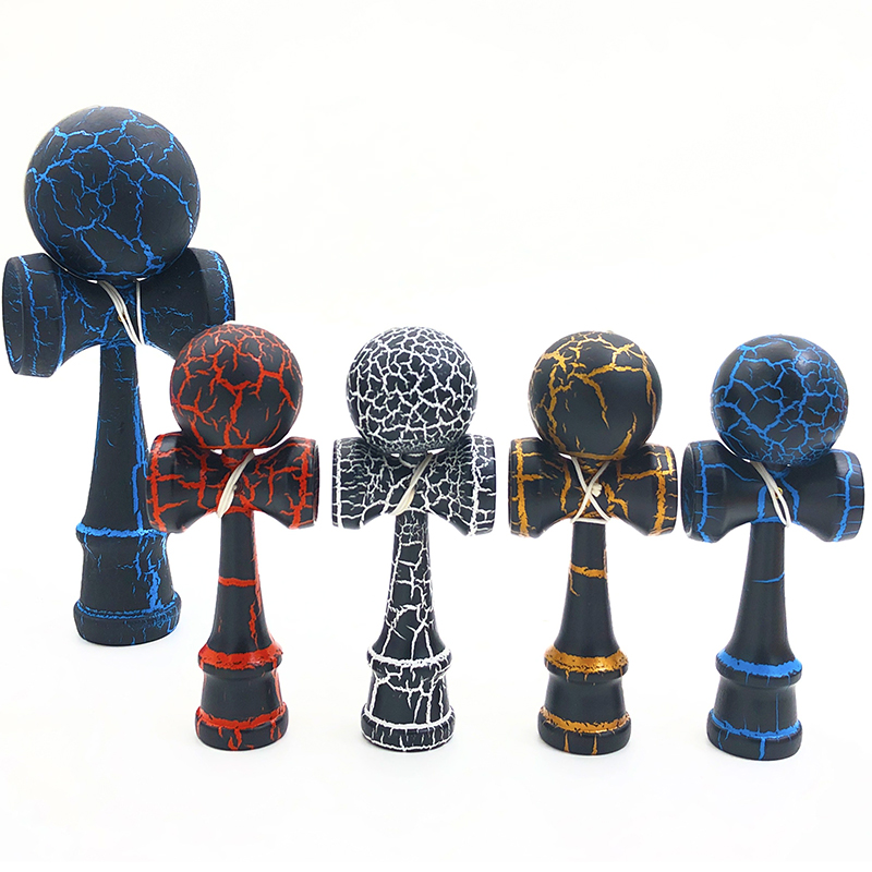 12CM Mini Kendama Professional Wooden Toys Outdoor Skillful Juggling Ball Toy Stress Ball Early Education Toys For Children