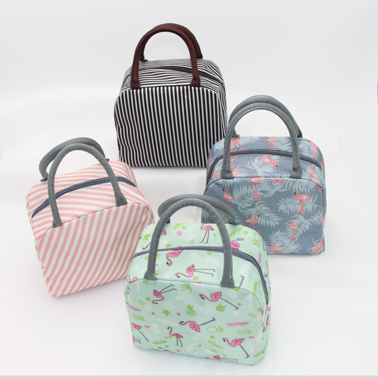 2019 Hot New Girls Kids Insulated Camping Bag Tote Oxford Box Bag Thermal Cooler Food Bags High Quality Waterproof Lunch Bags