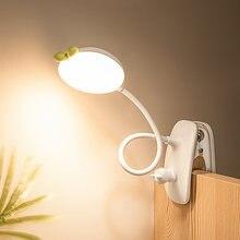 Настольная лампа 42 светодиодный настольная с зажимом Сенсорное