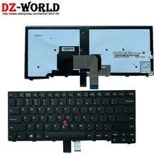 New EUA Inglês Teclado Retroiluminado para Lenovo Thinkpad T440 T440S T431S T440P T450 T450S T460 Laptop