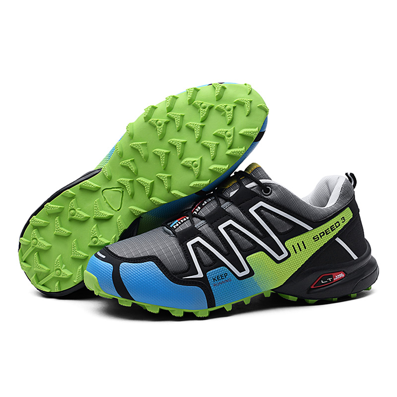 12 Colors New Luminous Hiking Shoes Explosion-proof Mountain Climbing Shoes Chaos Large Size Outdoor Shoes Non-slip Shoes