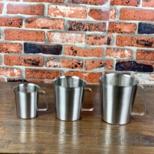 Measuring-Cup Stainless-Steel with Scale 2000ml Kitchen
