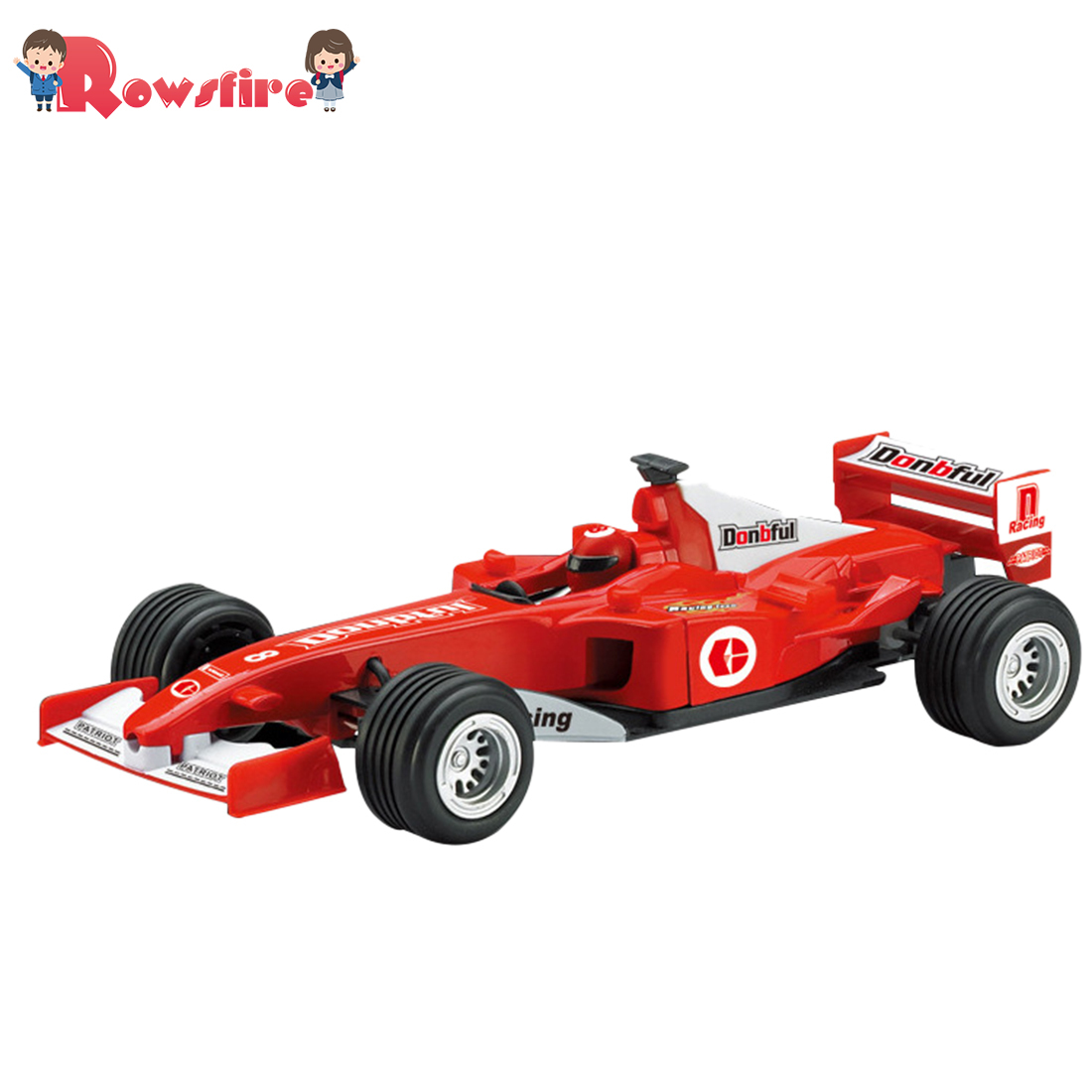 <font><b>2018</b></font> Popular 1:24 Alloy Pull-back <font><b>F1</b></font> Car Toy Simulation Equation Vehicle Model for Children Playing Kit image