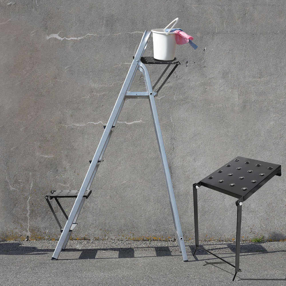 Cool Steel Ladder Platform Accessory Heavy Duty Work Stand System Pdpeps Interior Chair Design Pdpepsorg