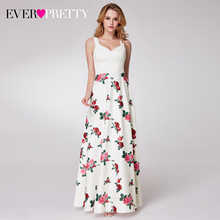Elegnat 플로랄 프린트 홈 커밍 드레스 적 예쁜 민소매 라인 v 넥 간단한 비치 스타일 졸업 드레스 Vestidos