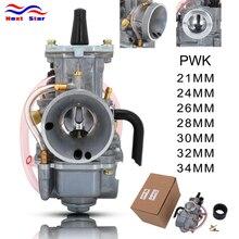 For PWK 21 24 26 28 30 32 34 For Keihin PWK Motorcycle Carburetor Carburador Power Jet ATV Buggy Quad Racing Moto 50cc-250cc