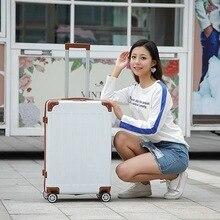 Abs Bagage Set 20 ''Cabine Carry Op Koffer Met Wielen 26 Inch Vrouwen Reizen Trolley Rollende Bagage Voor Meisjes student Big Bag