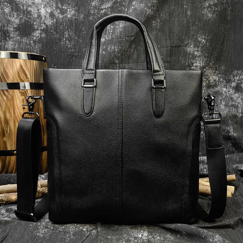 Maheu moda dos homens bolsas de couro bolsa de ombro com alça de trabalho tote bolsa de viagem bolsa ipad bolso negócios