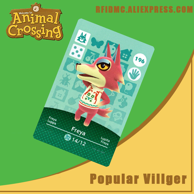 196 Freya Animal Crossing Card Amiibo For New Horizons
