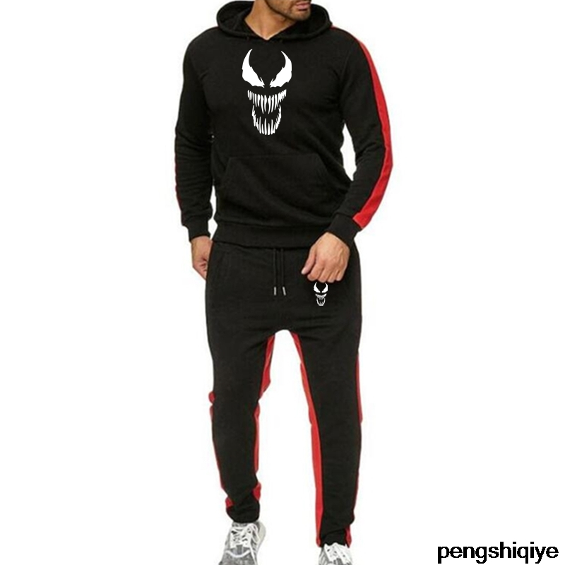 Boutique Casual Clothes Hoodies Suit Jacket + Pant Winter Warm Men Set Field Male 2020 New Sport Fleece Thickened Hooded Men Set