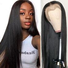 Fashion Plus Straight Glueless Full Lace Human Hair Wigs For Women Front 150% Brazilian