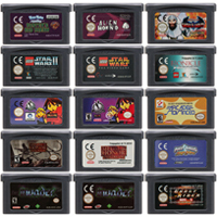 32 Bit Video Game Cartridge Console Card for Nintendo GBA ACT Action Game Series Edition
