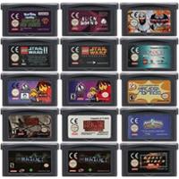 32 קצת משחק וידאו מחסנית קונסולת כרטיס עבור נינטנדו GBA לפעול פעולה משחק סדרת מהדורה