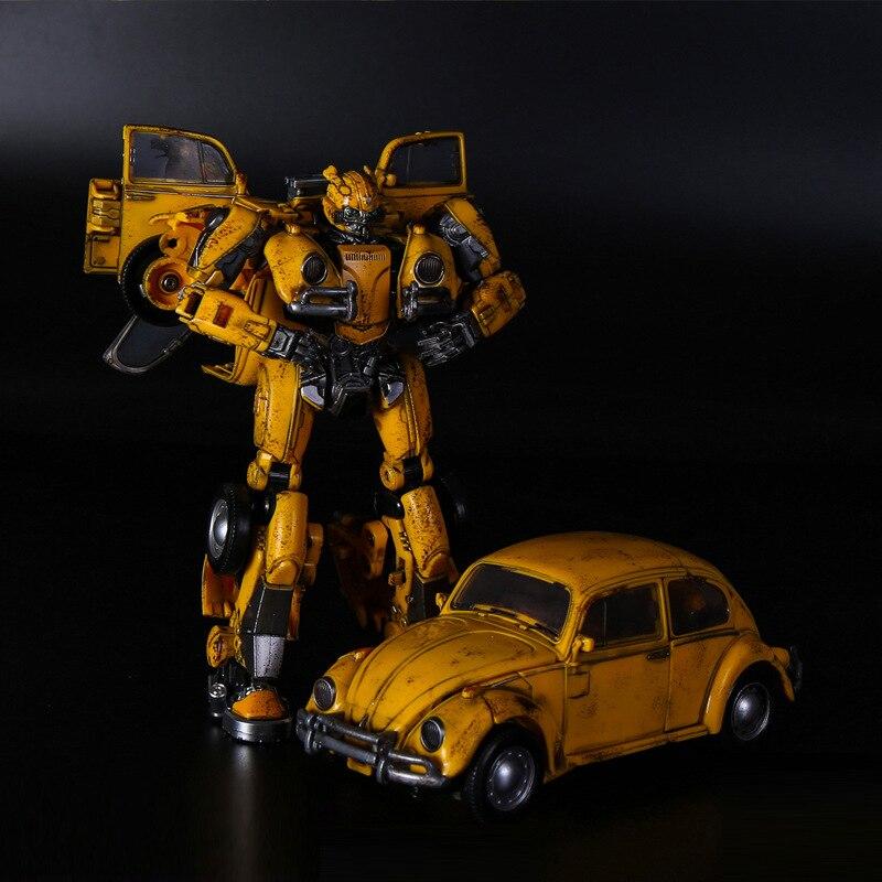 Bmb novo 21 cm transformação menino brinquedos robô carro anime figuras de ação deformação caminhão modelo brinquedos crianças presente H6001-3