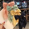 Neue Band Bogen Mit Clips Elegante Doppel Schicht Bowknot Haarnadeln Haar Clip Für Frauen Mädchen Haar Zubehör