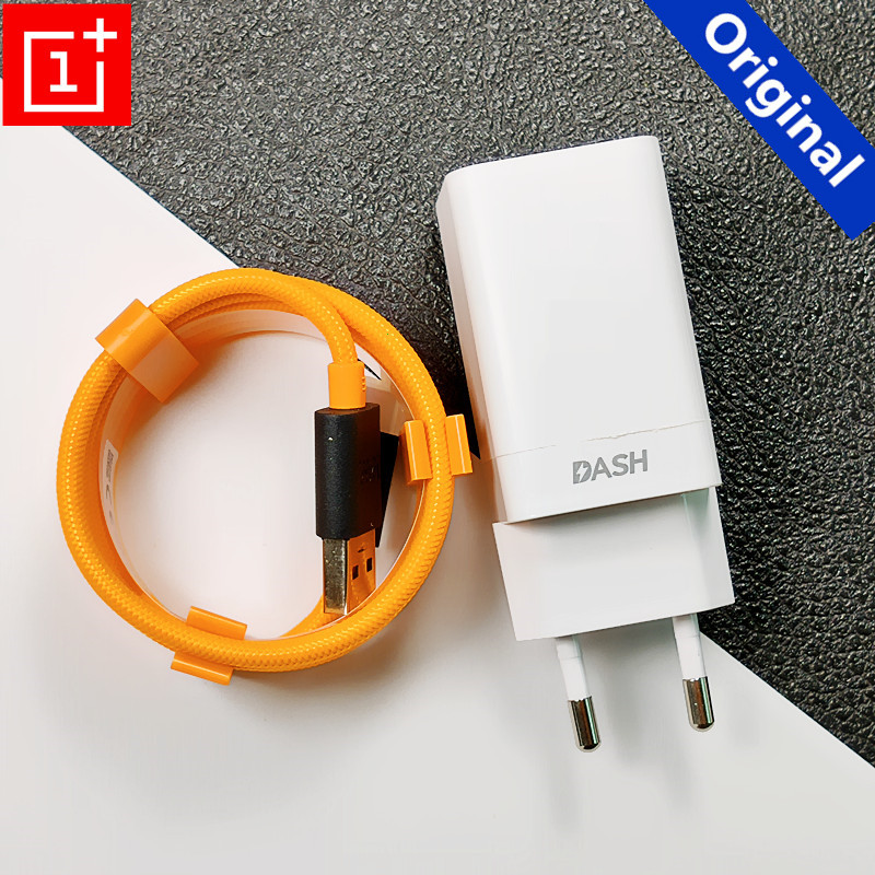 Original Oneplus charger Dash charge <font><b>USB</b></font> WALL Fast <font><b>power</b></font> <font><b>adapter</b></font> Quick Type C cable For Oneplus 6 6t 5 5t 3 3t 7 image