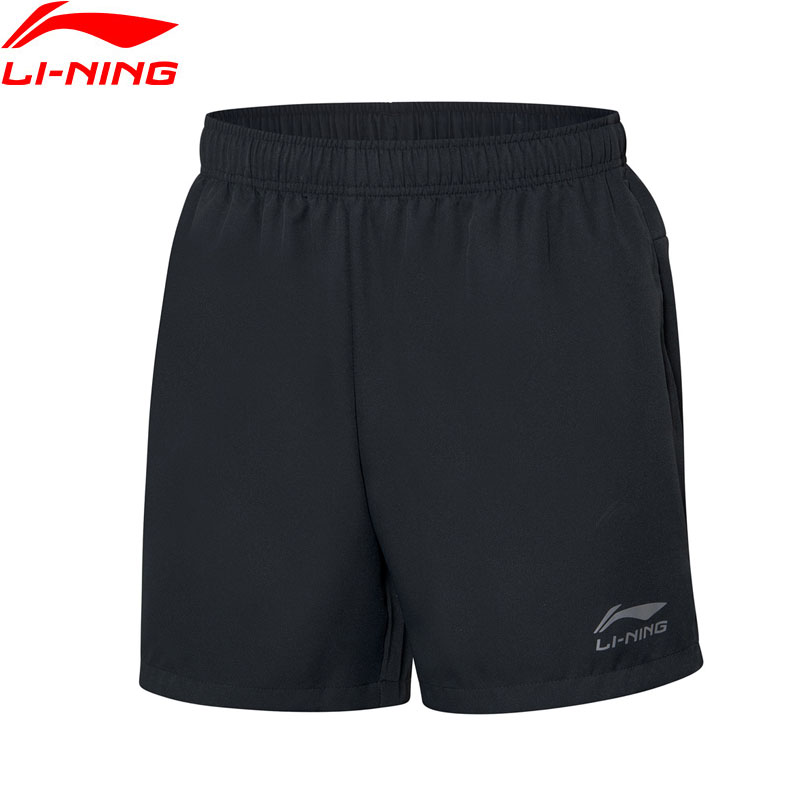 Lining Shorts Table-Tennis Breathable Men AAPP075 MKD1611 Regular-Fit Basic Competition title=