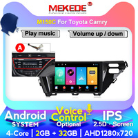 MEKEDE M400 IPS DSP Car Multimedia Player GPS Navigation For Toyota Camry 2018 Android Autoradio Mirrow Link Touch Screen