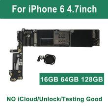 "ICloud placa base desbloqueada para iPhone 6, 4,7 "", con Touch ID, para iPhone 6, 32GB, 16GB, 64GB, A1549, ñ, A1586, negro, dorado, Rosa"