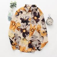 Hawaii floral shirts Long Sleeve