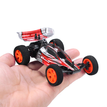 Velocis 1/32 2.4Ghz RC Car Mutiplayer in Parallel 4 CH Radio Control Car Operate USB Charging Edition RC Formula Car Model Toys 2