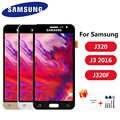 J320 di Regolazione per Samsung Galaxy J3 2016 Display J320 J320F J320M J320Y Lcd Touch Screen Digitizer Gruppo Dello Schermo di Ricambio