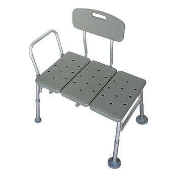 3 Blow Molding Plates Aluminium Alloy Elderly Bath Chair Gray  Bath Stool