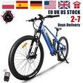 Мощный электрический велосипед 48 в 750 Вт MTB Мужской Велосипед eletrica 27,5 дюйма горный электровелосипед Bafang двигатель батарея Samsung дорожный элек...