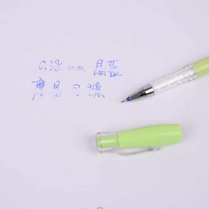 Caneta apagável para escola e escritório, 0.38mm, tinta mágica, gel criativo, nova, melhor venda, aluno loja de papelaria