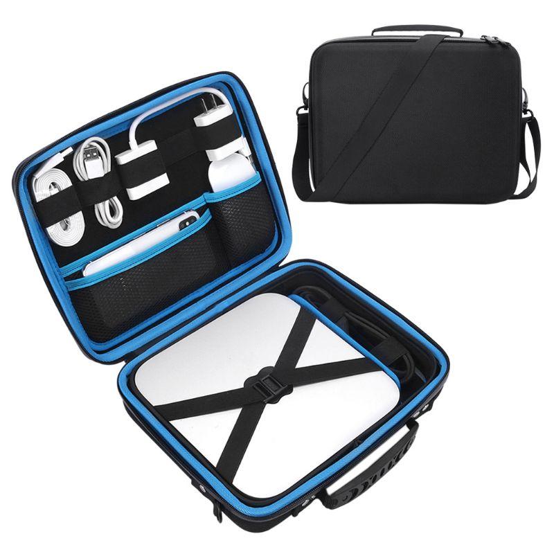 EVA Hard Carry Handbag Protection Storage Shoulder Bag With Strap For M-A-C Mini Accessories-5