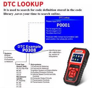 Image 5 - Scanner automatico OBD2 KONNWEI KW850 Scanner lettore di codice universale strumento diagnostico multilingue OBD 2 Scanner automatico