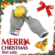 Antscope 1 пара перчатки с защитой от порезов Hppe перчатки для работы защитные перчатки для кухни мужские износостойкие защитные перчатки 19
