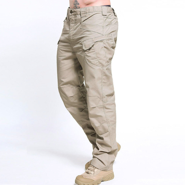 New Tactical Multiple Pocket Elasticity Military Urban Commuter Trousers 6XL 1